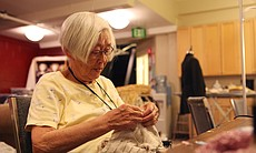 Lucille Cheng is one of the volunteers brought in to work on the costumes in ...