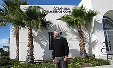 David Nydegger, President of the Oceanside Chamber of Commerce, says there ar...