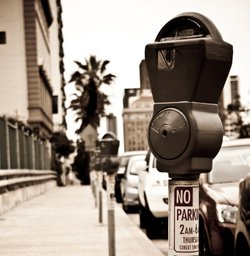 A San Diego parking meter on April 11, 2010.