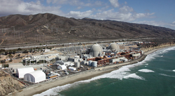 San Onofre Nuclear Generating Station is a nuclear power plant located on the Pacific coast of California. The 84-acre site is in the northwestern corner of San Diego County, and surrounded by the San Onofre State Park and next to the I-5 Highway.