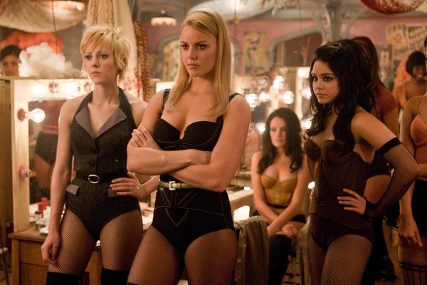 "Abbie Cornish (center) and the girls in ""Sucker Punch."""