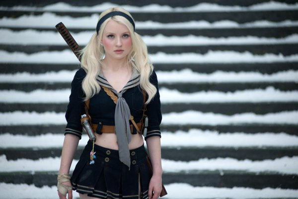 """Emily Browning as Baby Doll in """"Sucker Punch."""""""