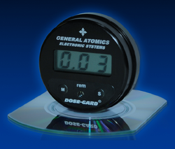 Dose-Gard, a radiation measurement dosimeter from San Diego-based General Atomics.