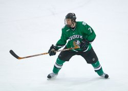 The University of North Dakota's Hockey Team is favored to win the NCAA championship.