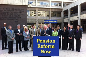 Photo for California Supreme Court Hears Arguments In Prop B Pension Case