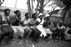Bear Guerra's photos taken in Haiti are on display at San Diego State University's Center for Latin American Studies.