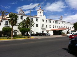 Calexico's De Anza Hotel had to be vacated following the Easter earthquake. Old folks who lived there needed to stay in motels until the hotel was judged to be safe.