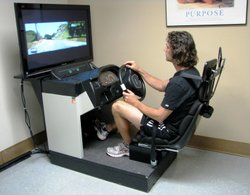 The Driving Simulator at Scripps Health in Encinitas, March 2011