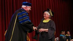 Nola Ochs earned her bachelor's degree at the age of 95 and, in 2010, received her master's degree just three months shy of her 99th birthday.