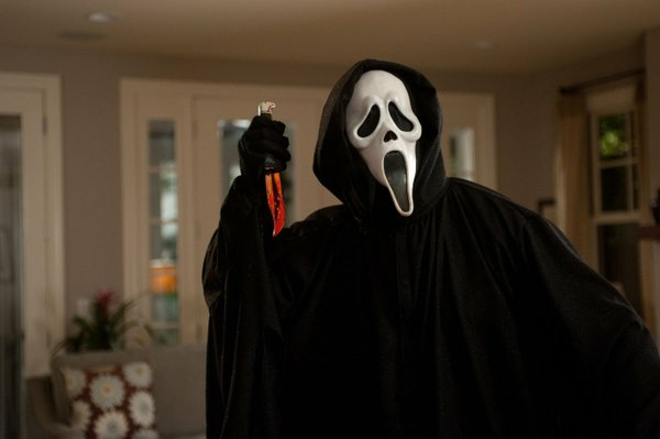 One of the lamest serial killers, Ghostface.