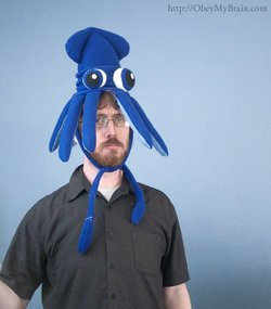 Josh Freeman is an El Cajon local who has been making a splash in the handmade scene since making a squid hat for his sister's wedding. Now his Etsy shop keeps him busy full time.