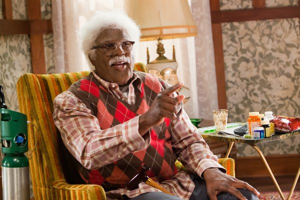 "Tyler Perry plays multiple roles in ""Madea's Big Happy Family."""