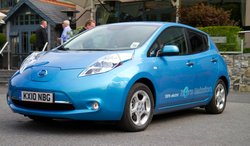 The Nissan Leaf is one of the electric only vehicles that you might see on lo...