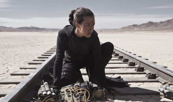 "Maggie Q is Priestess in ""Priest."""