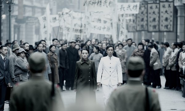"Donnie Yen in ""Legend of the Fist."""