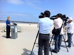 Heal The Bay's Kirsten James talks about water quality at San Diego Beaches