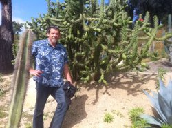 Mike Marika is a San Diego city arborist who manages the flora of Balboa Park.