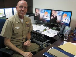 Captain Scott Johnston Director of Naval Center for Operational and Combat Stress Control, May 31st 2011
