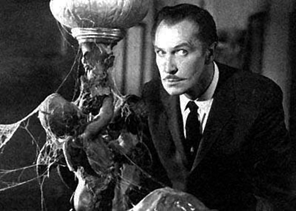 "Vincent Price in ""The House on Haunted Hill."""