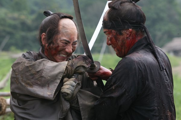"Crossing swords in ""13 Assassins."""