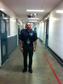Captain Daniel Peña, who runs Downtown San Diego's central jail, one of thous...