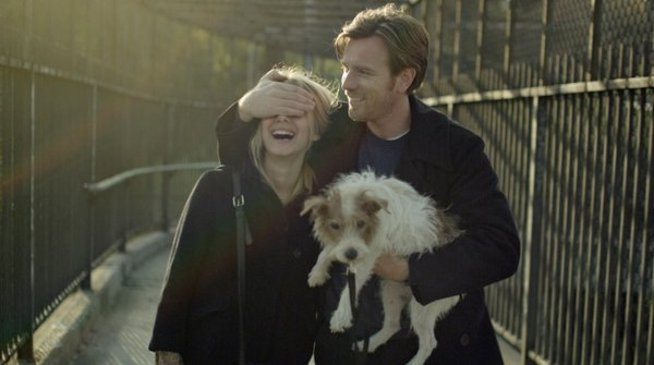 "Melanie Laurent, Ewan McGregor, and the scene stealing dog in ""Beginners."""