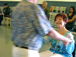 Beverly Weurding co-founded the wheelchair dancing program. She says when peo...