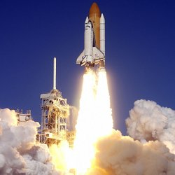 STS-107 launch on January 16, 2003.