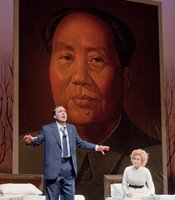 "James Maddalena and Janis Kelly as Richard and Pat Nixon in Adam's ""Nixon In China."""