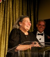 "Darlene Shiley, Hall of Fame Inductee (2010) and Honorary Chair at ""KPBS Celebrates the Sixties"" Gala"