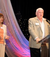 Hall of Fame Visionary Awardees Larry and Gigie Price