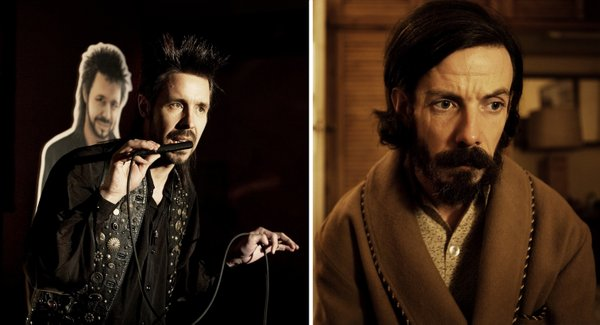 "Paddy Considine and Noah Taylor in ""Submarine."""