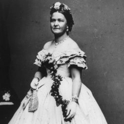 Mary Lincoln, president Abraham Lincoln's wife.