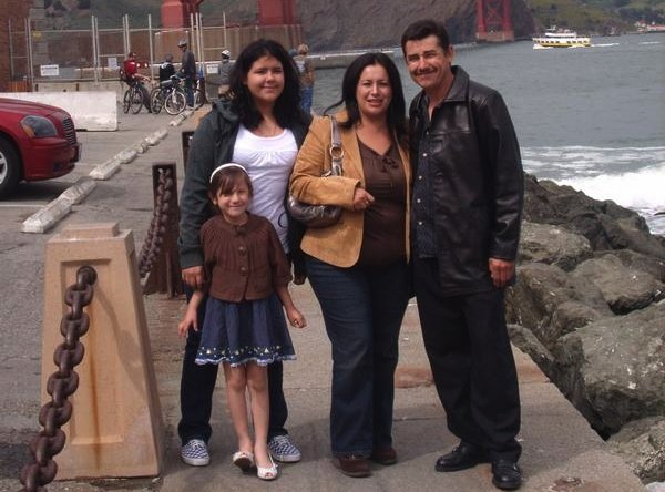 Left to right, victims Emily Pimienta, 9, Priscilla Pimienta, 17, Georgina Pimienta , 38, and perpetrator Alfredo Pimienta, 44, were found dead in their Skyline home on May 24, 2011.  Police suspect a possible suicide pact,  notes written by each parent are under investigation.
