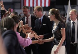 Prince William, Duke of Cambridge and Catherine, Duchess of Cambridge attend ...