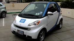 All Electric Smart fortwo vehicle