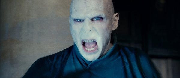"Ralph as Lord Voldemort in Warner Bros. Pictures' fantasy adventure ""Harry Potter and the Deathly Hallows, Part 2,"" a Warner Bros. Pictures release."