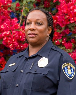 San Diego police Det. Donna Williams.