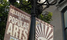 2011 Comic-Con Banner in the heart of the Gaslamp Quarter (11491)