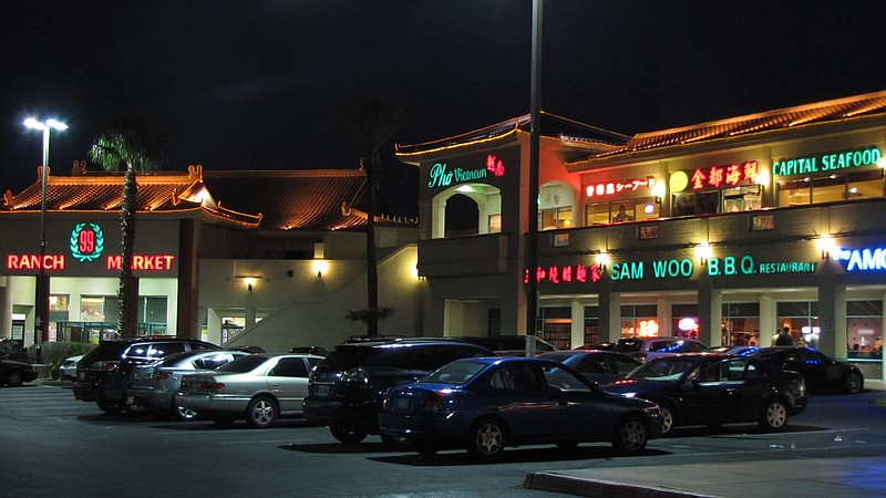 Chinatown Plaza, the very first of the Asian-themed shopping centers on Sprin...