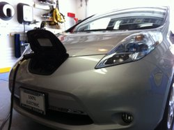 All electric Nissan Leaf