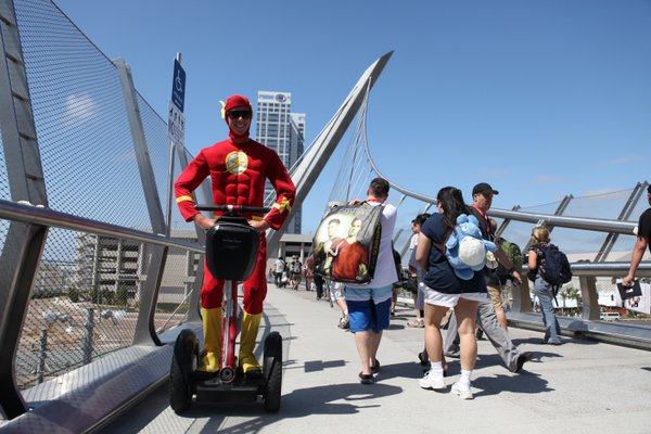 Apparently the Flash needs a segway.
