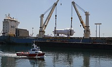 New steam generators arriving at Port of Long Beach
