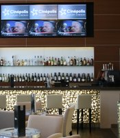 The lobby bar features expensive tequila
