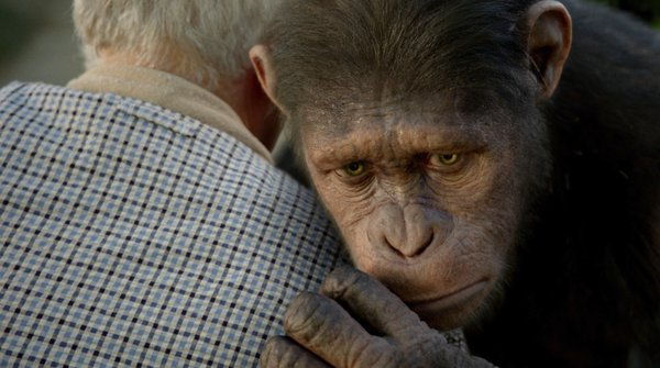 Andy Serkis creates another motion capture performance in 'Rise of the Planet of the Apes.""