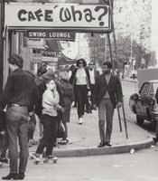 Cafe Wha? in New York City's Greenwhich Village.