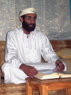 Imam Anwar al-Awlaki in Yemen October 2008, taken by Muhammad ud-Deen.