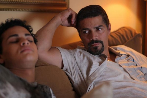 "Harmony Santana and Esai Morales star in ""Gun Hill Road."""