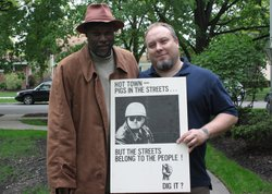 Tim Schmitt of DesMoines, Iowa has long wondered about the story behind the angry images in this poster. He asks Tukufu Zuberi from HISTORY DETECTIVES to find out who made this poster and why.