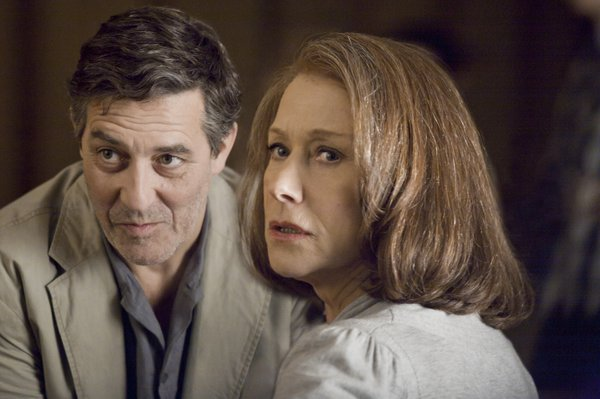 """Ciaran Hinds and Helen Mirren reconnect 30 years after completing a Mossad mission in East Berlin in """"The Debt."""""""